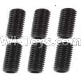 Wltoys 10428-B RC Car Parts-A929-85 Jimi Screws Parts-M3X8-Black zinc plated(6PCS),Wltoys 10428-B Parts