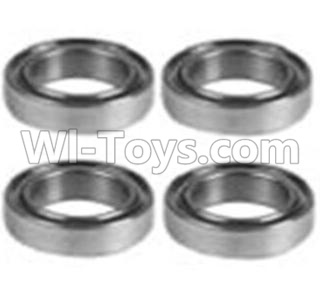 Wltoys 10428-B RC Car Parts-K929-52 K939-52 Bearing Parts(10X15X4)-4PCS,Wltoys 10428-B Parts