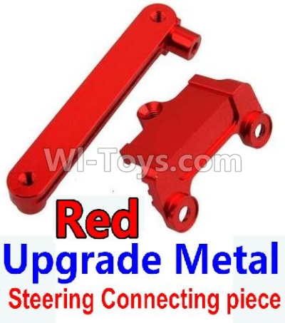 Wltoys 10428-B Upgrade Parts-Upgrade Metal Steering connecting piece-Red,Wltoys 10428-B Parts