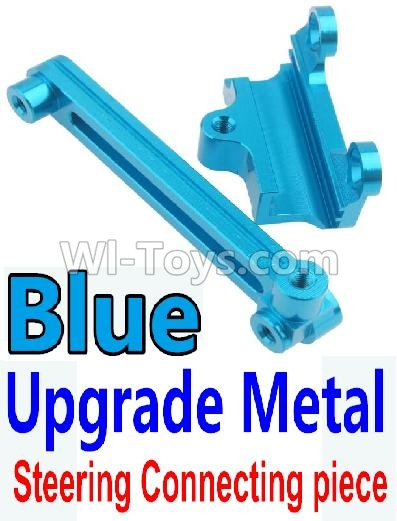 Wltoys 10428-B Upgrade Parts-Upgrade Metal Steering connecting piece-Blue,Wltoys 10428-B Parts