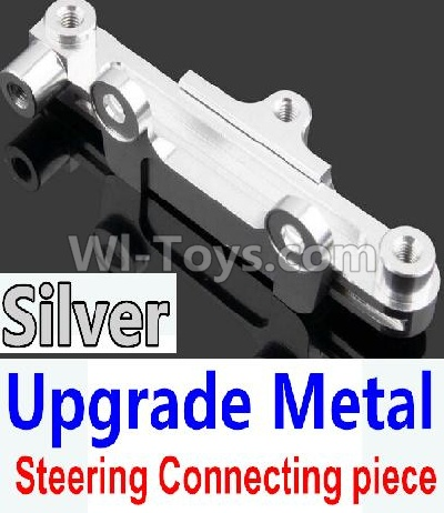 Wltoys 10428-B Upgrade Parts-Upgrade Metal Steering connecting piece-Silver,Wltoys 10428-B Parts
