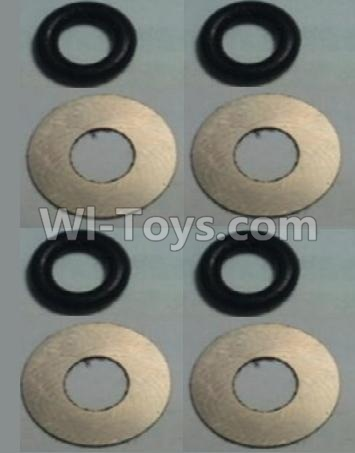 Wltoys 10428-B RC Car Parts-Flat Washer(Total 4set,8pcs),Wltoys 10428-B Parts
