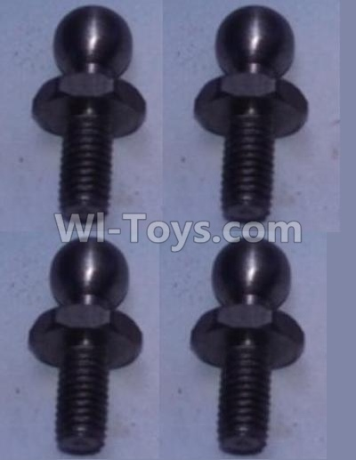 Wltoys 10428-B RC Car Parts-4.8 Ball head shape screws(4pcs),Wltoys 10428-B Parts