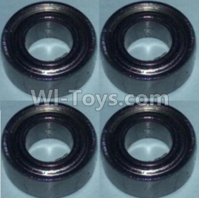 Wltoys 10428-B RC Car Bearing Parts(5X10X4)-4pcs,Wltoys 10428-B Parts