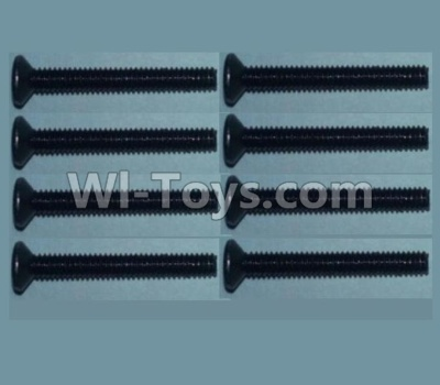 Wltoys 10428-B RC Car Parts-Flat head inner hexagon Screws Parts-M2X16-(8pcs),Wltoys 10428-B Parts