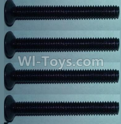 Wltoys 10428-B RC Car Parts-Flat head inner hexagon Screws Parts-M4X32-(4pcs),Wltoys 10428-B Parts
