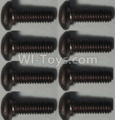 Wltoys 10428-B RC Car Parts-Pan head inner hexagon Screws Parts-M2.5X6-(8pcs),Wltoys 10428-B Parts