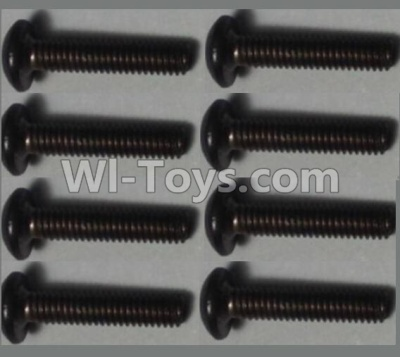 Wltoys 10428-B RC Car Parts-Pan head inner hexagon Screws Parts-M2.5X12-(8pcs),Wltoys 10428-B Parts