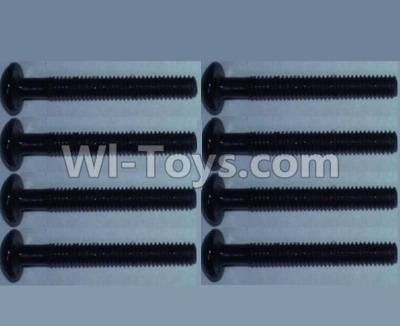 Wltoys 10428-B RC Car Parts-Pan head inner hexagon Screws Parts-M2.5X20-(8pcs),Wltoys 10428-B Parts