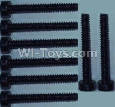 Wltoys 10428-B RC Car Parts-Cup head inner hexagon Screws Parts-M2X16-(8pcs),Wltoys 10428-B Parts