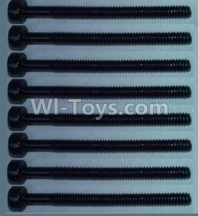 Wltoys 10428-B RC Car Parts-Cup head inner hexagon Screws Parts-M2X24(8pcs),Wltoys 10428-B Parts