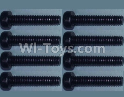 Wltoys 10428-B RC Car Parts-Cup head inner hexagon Screws Parts-M2.5X20-(8pcs),Wltoys 10428-B Parts