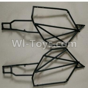 Wltoys 10428-B RC Car Parts-0319 Left and Right Car side frame,Wltoys 10428-B Parts