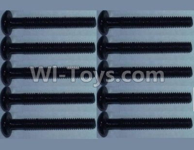 Wltoys 10428-B RC Car Parts-0321 head inner hexagon Screws-2.5X16(10PCS),Wltoys 10428-B Parts