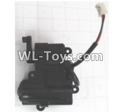 Wltoys 10428-E RC Car Parts-Front steering gearbox assembly-10428-D.0695,Wltoys 10428-E 1/10 Parts