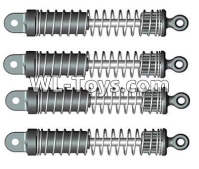 Wltoys 10428-E RC Car Parts-Shock absorbers(4pcs)-For front or Rear-10428-D.0697,Wltoys 10428-E 1/10 Parts