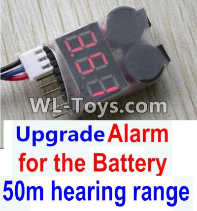 Wltoys 10428-E RC Car Upgrade Alarm for the Battery,Can test whether your battery has enouth power,Wltoys 10428-E 1/10 Parts