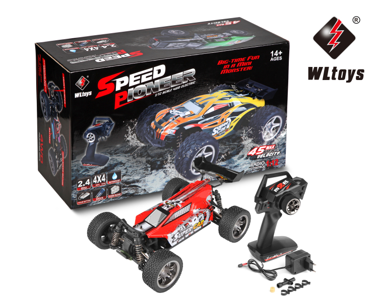 Wltoys 12401 RC Car Parts-RC Monster Truck Toy,1/12 1:12