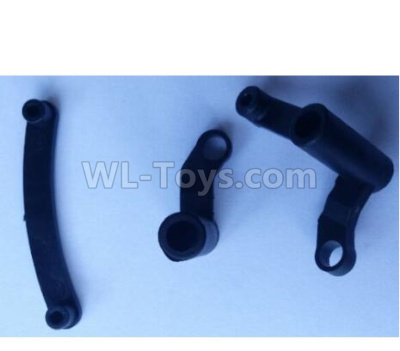 Wltoys 124012 RC Car Parts-Steering Arm assembly Parts-124011.0960,1/12 Wltoys 124012 Parts
