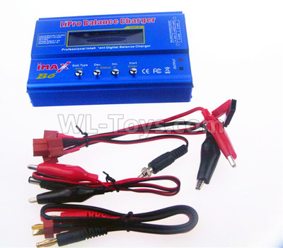 Wltoys 124012 RC Car Upgrade B6 Balance charger(Can charger 2S 7.4v or 3S 11.1V Battery),1/12 Wltoys 124012 Parts
