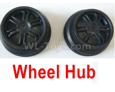 Wltoys 124012 RC Car Parts-Wheel Hub Parts(2pcs)-Not include the Tire Lether-124011.0967,1/12 Wltoys 124012 Parts