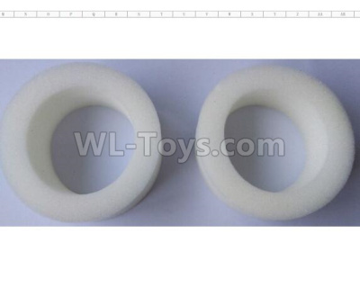 Wltoys 124012 RC Car Parts-EVA sponge wheel Parts(2pcs)-90X55X35-124011.0970,1/12 Wltoys 124012 Parts