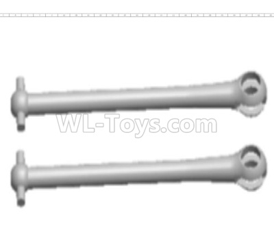 Wltoys 124012 RC Car Parts-Transmission shaft Parts,Dog Bone(2pcs)-6.8x48.7mm-124012.1204,1/12 Wltoys 124012 Parts
