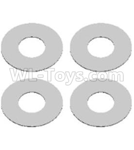 Wltoys 124012 RC Car Parts-Flat washers Parts(4PCS)-12X5.2X0.2mm-12428.0066,1/12 Wltoys 124012 Parts