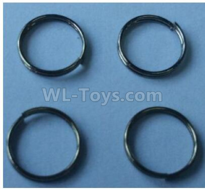 Wltoys 124012 RC Car Parts-Pressure spring Parts(4pcs)-0.6x9x2mm-124011.0981,1/12 Wltoys 124012 Parts