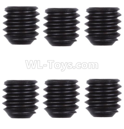 Wltoys 124012 RC Car Parts-M4 Machine screws Parts(M4X4)-6pcs-12428.0128,1/12 Wltoys 124012 Parts
