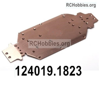 Wltoys 124019 Metal chassis Parts, Metal Bottom Frame. 124019.1823.