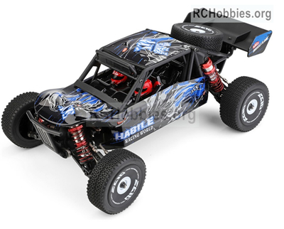 Wltoys 124018 RC Car,Wltoys 1/12 RC Racing Car 1/12 4WD Alloy 60km/h High Speed RC Buggy Electric RC Car