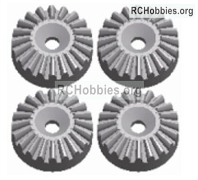 Wltoys 124019 Metal 16T Differential large planetary gear Parts. 124019.1155. Total 4pcs. Hardware.