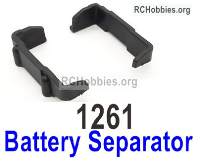 Wltoys 124019 Battery Separator group Parts. 124019.1261