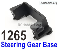 Wltoys 124019 Servo Steering Gear Base Fixed Parts. 124019.1265 Wltoys 124019 1/12 Parts, Wltoys 124019 RC Car Parts.