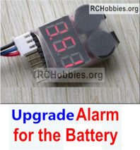 Wltoys 124019 Upgrade Alarm Parts for the Battery.It can test whether your battery has enouth power