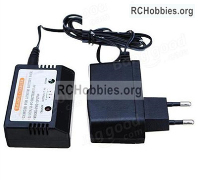 Wltoys 124019 charger and balance charger Parts. It Can charge 1 battery at the same time.