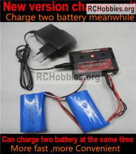 Wltoys 124019 Upgrade Charger and Balance charger Parts. It can charge 2 battery at the same time