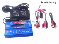 Wltoys 124019 Upgrade B6 Balance charger and Power Charger unit Parts. It can charger 2S 7.4v or 3S 11.1V Battery.