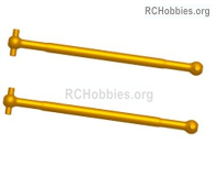 Wltoys 124019 Universal drive shaft set Parts. 124019.1282. Total 2pcs. The size is 2.5x66.7mm.
