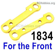 Wltoys 124019 Reinforcement piece Parts for the Front swing arm. 124019.1834. Total 2pcs.