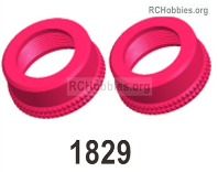 Wltoys 124019 Shock absorber cap assembly Parts. 124019.1829. The size is 16X7.2mm. Total 2pcs.