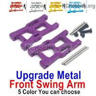 Wltoys 124019 Upgrade Front Metal Swing Arm Parts. 1250. 4 Colors you can choose.