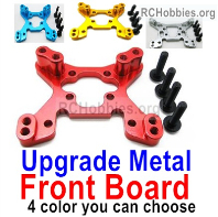 Wltoys 124019 Upgrade Metal Front Shock absorber board Parts. 4 Colors you can choose.