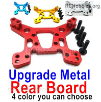 Wltoys 124019 Upgrade Metal Rear Shock absorber board Parts. 4 Colors you can choose.