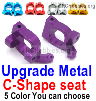 Wltoys 124019 Upgrade Metal C-Shape seat Parts, 1253. Door-Shape Seat. Total 2pcs.4 Colors you can choose.