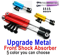 Wltoys 124019 Upgrade Metal Front Shock Absorber Parts.124019.1316 2pcs. 3 Colors you can choose.