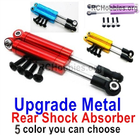 Wltoys 124019 Upgrade Metal Rear Shock Absorber Parts.124019.1316. 2pcs. 3 Colors you can choose.