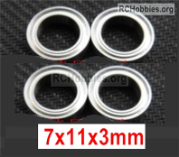 Wltoys 124019 Ball bearing Parts. 7X11X3mm. A949-35