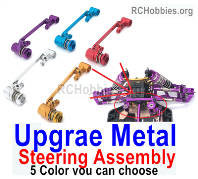 Wltoys 124019 Upgrae Metal Steering Assembly Parts.